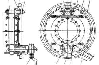 Тормозная система автомобиля. Дипломная (ВКР). Транспорт, грузоперевозки. 2011-11-13
