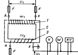Реферат: Измерительные трансформаторы напряжения -