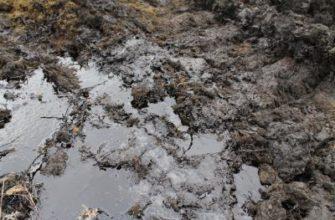 Источники загрязнения воды и почвы нефтепродуктами