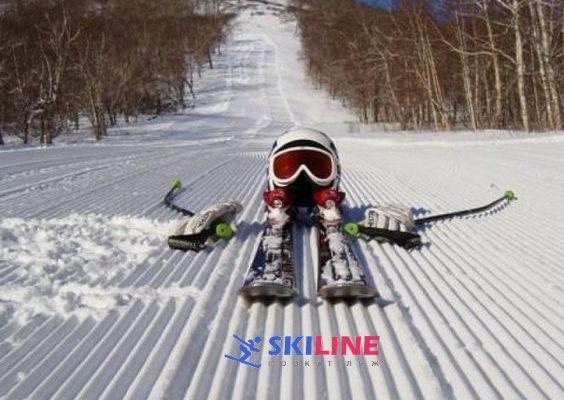 Способы передвижения на лыжах : торможение, поврот, подъем • SKILINE