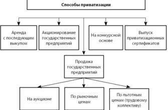 Приватизация государственных и муниципальных предприятий - Государство и право - KazEdu.kz