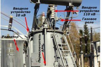 Силовые трансформаторы. Реферат. Физика. 2009-10-20