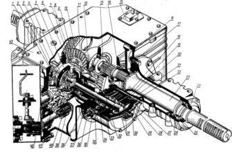 Реферат: Трансмиссия и ходовая часть тракторов МТЗ-80;82 -