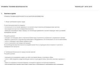 """Инструктаж по технике безопасности """"Волейбол""""   Методическая разработка по физкультуре (8 класс):    Образовательная социальная сеть"""
