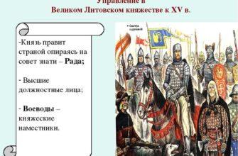Образование Великого Княжества Литовского : Реферат : История