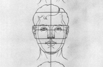 Рисование головы человека - Н. Н. Ростовцев   Изображение конструктивной схемы при различных положениях головы в пространстве - часть первая