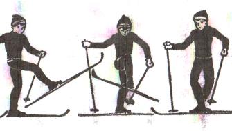 Лыжная подготовка. Подъемы. Спуски. Повороты. Торможение