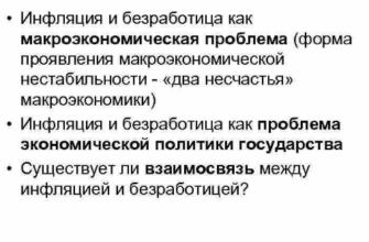 Реферат: Причины и особенности инфляции в России -