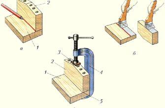 § 14. Соединение деталей из древесины клеем. - Технология 5 класс - Дистанционное обучение - Каталог статей - УМЕЛЫЕ РУЧКИ - Поделки своими руками