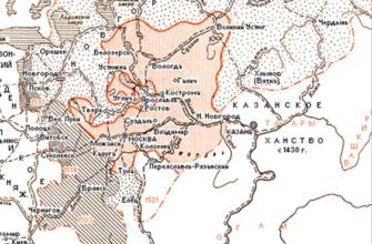 Предпосылки, особенности и основные этапы    формирования  русского централизованного государства