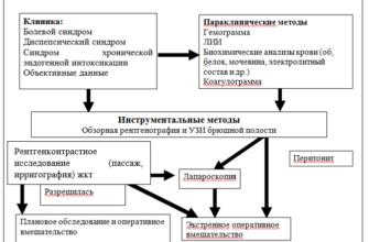 Острая кишечная непроходимость (методические рекомендации)