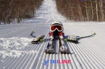 Как разворачиваться и спускаться на беговых и горных лыжах |